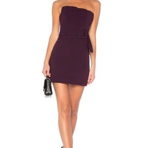 NBD Lizette Mini Dress with Belt. Size M Revolve